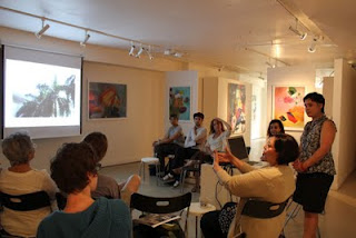 Artist talk-'Transnational Artistic Collaborations'Woman Made Gallery chicago IL june 18, 2011