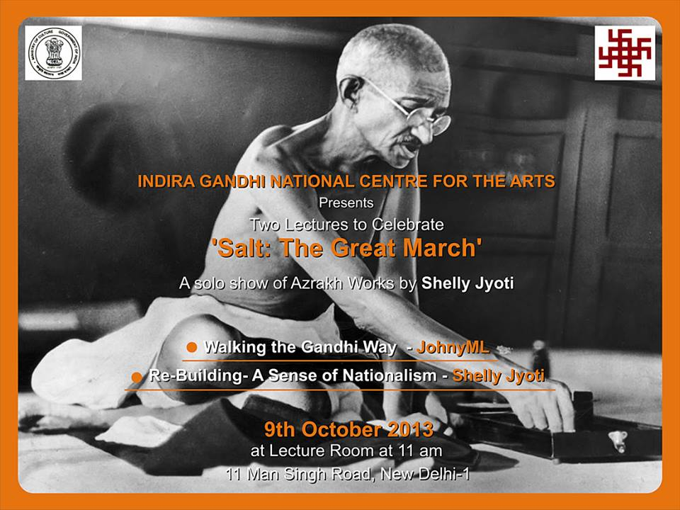 Lecture Re- Building: A Sense of Nationalism by shelly jyoti at IGNCA , New Delhi