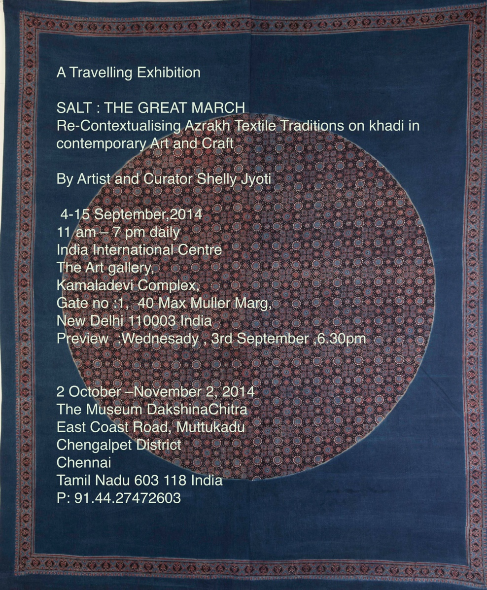 SALT:THE GREAT MARCH – A Travelling Exhibition 2014