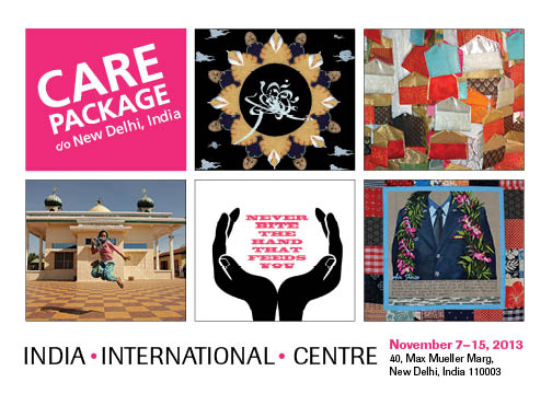UPCOMING -Care Package show at India International Centre 7-14 November 2013