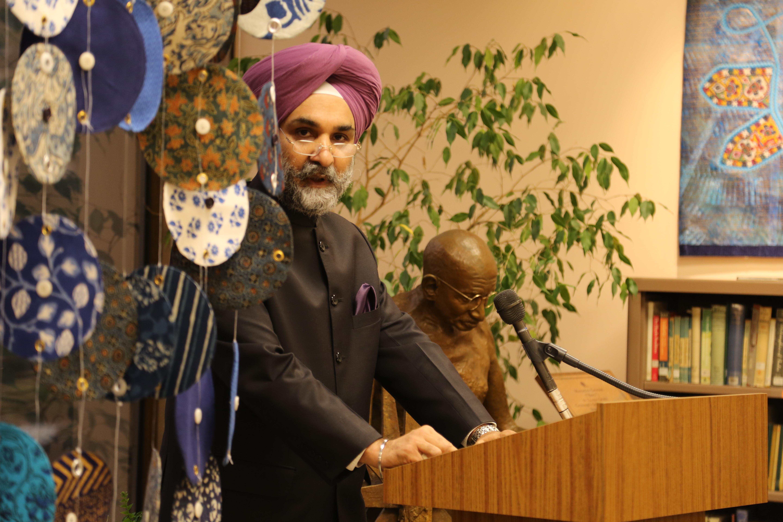 INDIGO Re-opens in Washington DC by Charge d'Affaires Ambassador Taranjit Singh Sandhu
