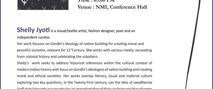 PUBLIC LECTURE AT THE NATIONAL MUSEUM, NEW DELHI-JANUARY 30, 2019
